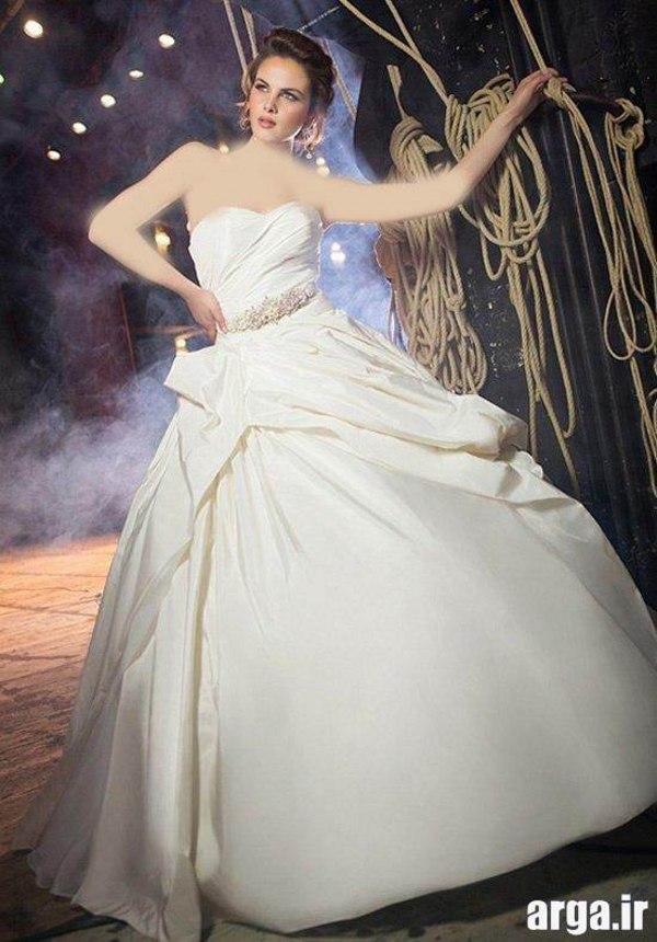 لباس عروس جدید اروپایی مدرن