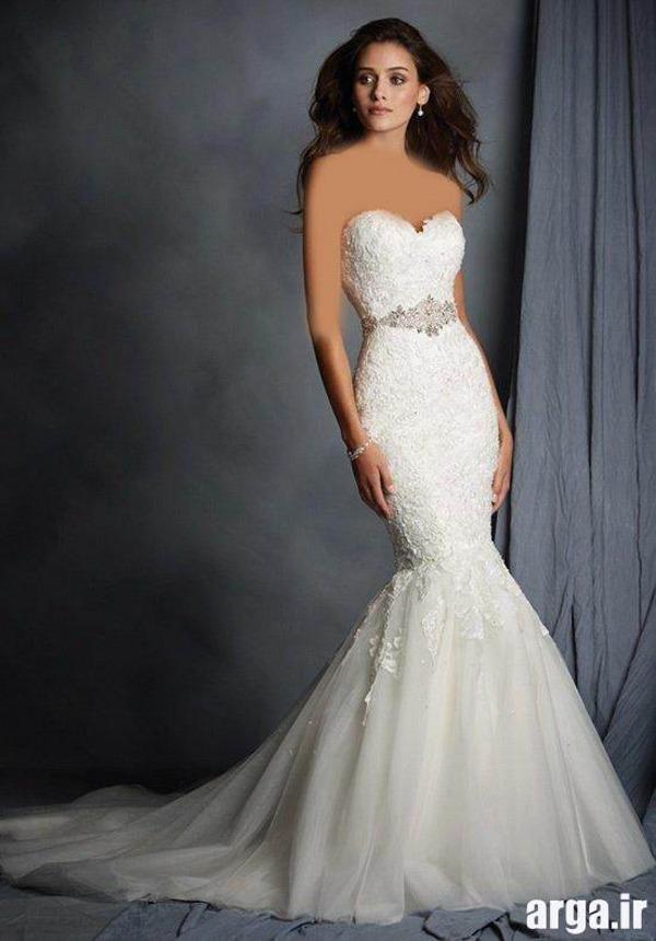 لباس عروس زیبا و شیک اروپایی