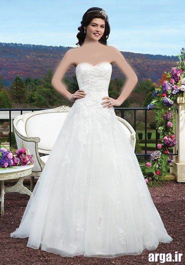 لباس عروس جذاب و باکلاس وزیبای عروس