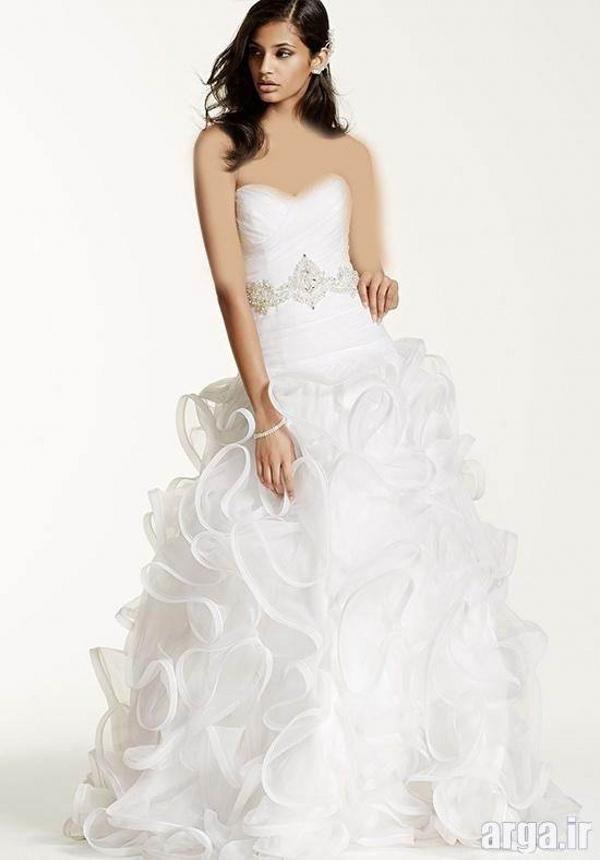 لباس عروس جدید اروپایی کلاسیک