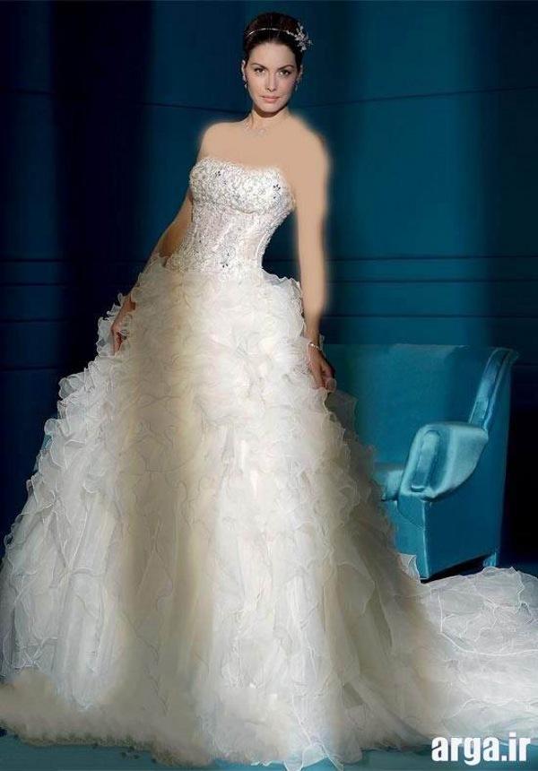 لباس عروس اروپایی باکلاس و شیک