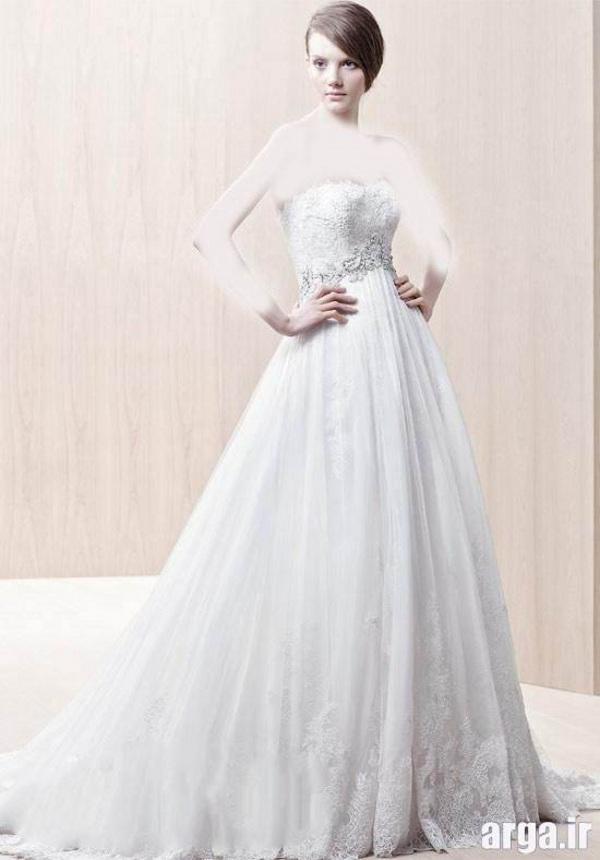 لباس عروس زیبا و جدید اروپایی