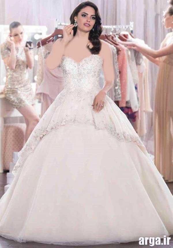 لباس عروس مدرن و جذاب