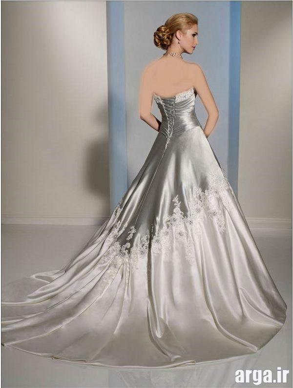 لباس های زیبا عروس نقره ای
