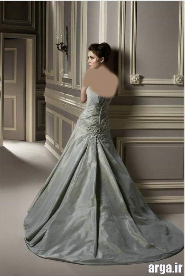 لباس های جدید عروس نقره ای
