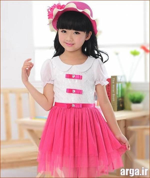 لباس دخترانه جذاب و مدرن