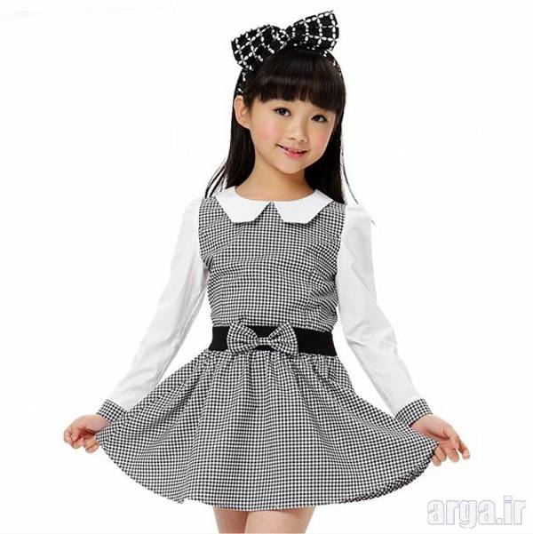 لباس دخترانه باکلاس و شیک