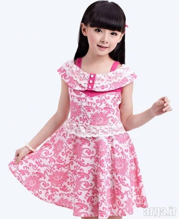 لباس دخترانه جذاب و زیبا