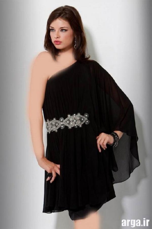 لباس مجلسی مدل جدید به رنگ مشکی