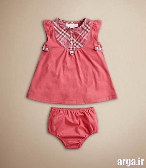لباس نوزادی دخترانه جذاب