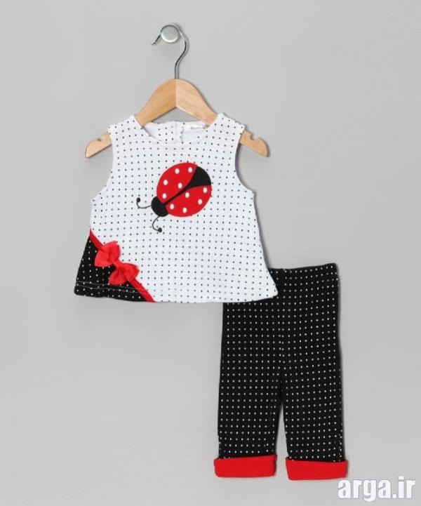 لباس نوزادی جدید دخترانه