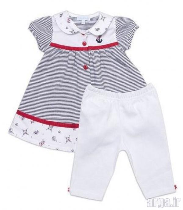 لباس نوزادی باکلاس دخترانه