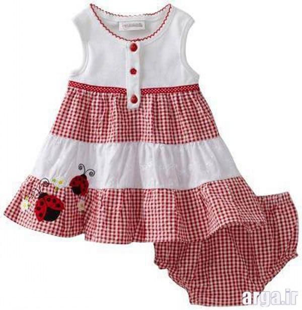 لباس زیبای نوزادی دخترانه