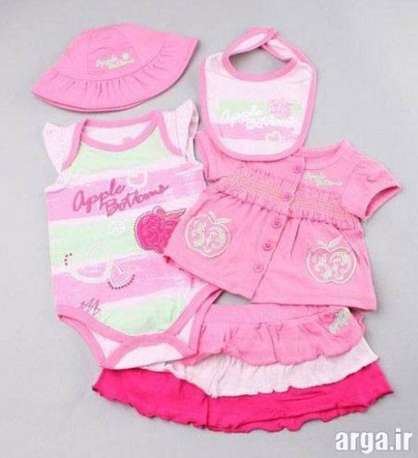 لباس مدرن نوزادی دخترانه