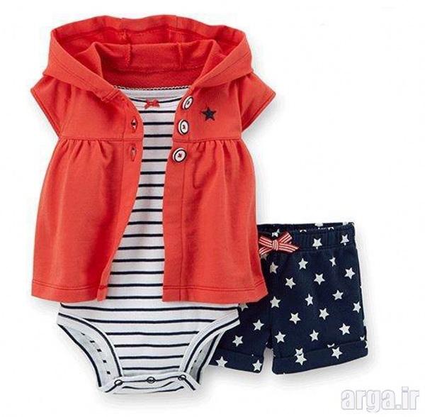 لباس باکلاس نوزادی دخترانه