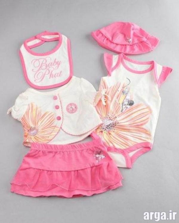لباس نوزادی دخترانه زیبا