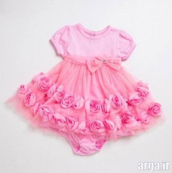 لباس نوزادی دخترانه شیک