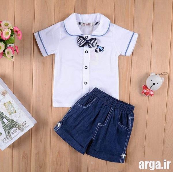 لباس نوزادی مدرن پسرانه