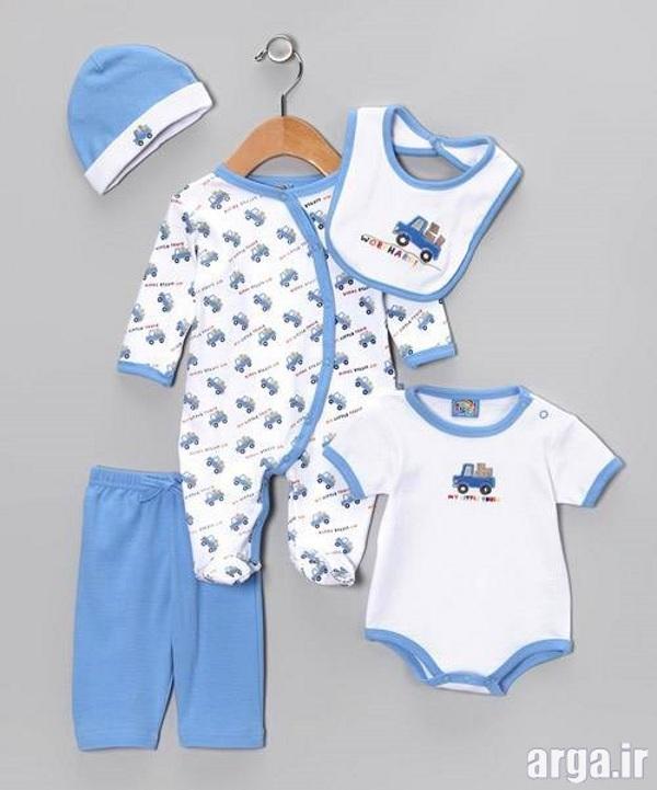 لباس نوزاد پسرانه شیک