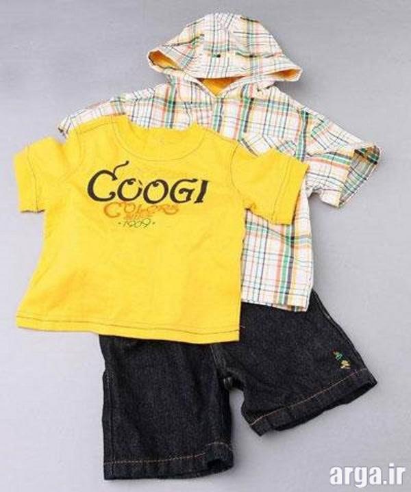 لباس نوزاد پسرانه مدرن