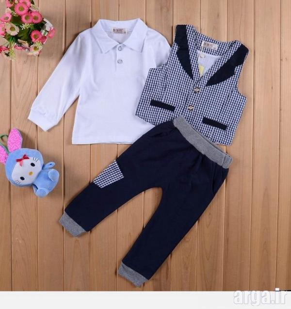 لباس نوزاد پسرانه جذاب