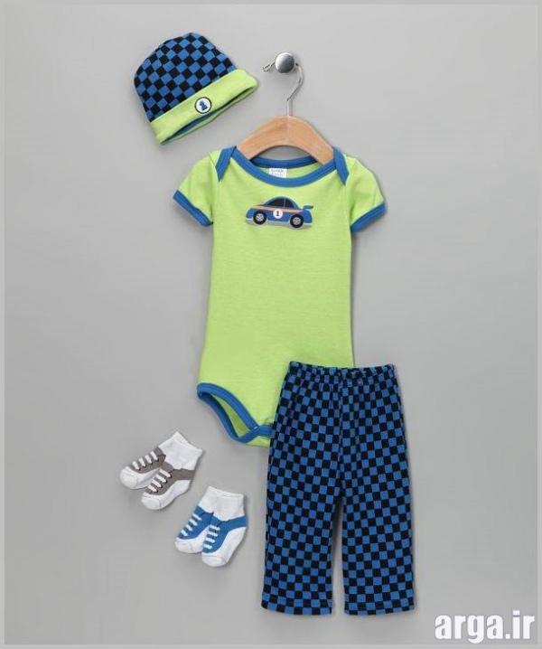 لباس نوزاد شیک پسرانه
