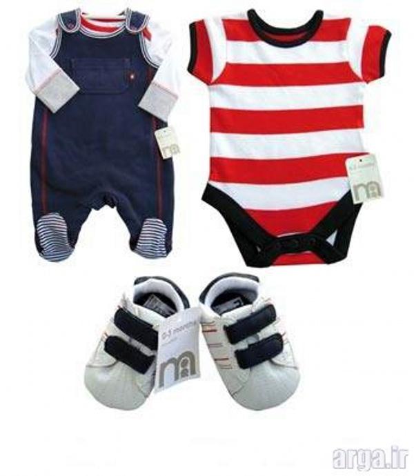 لباس نوزاد باکلاس پسرانه