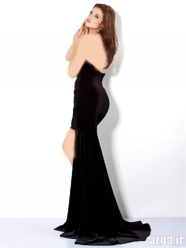 لباس شب مشکی جدید