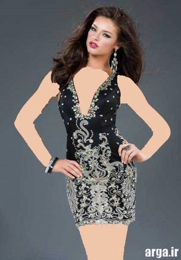 لباس شب مدرن و زیبا
