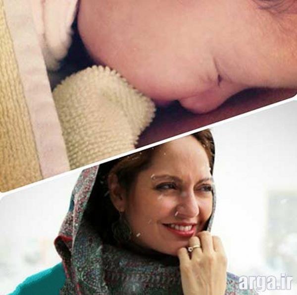 مهناز افشار و تصویری از دخترش