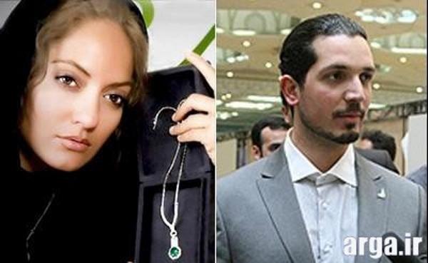 مهناز افشار و همسرش 2