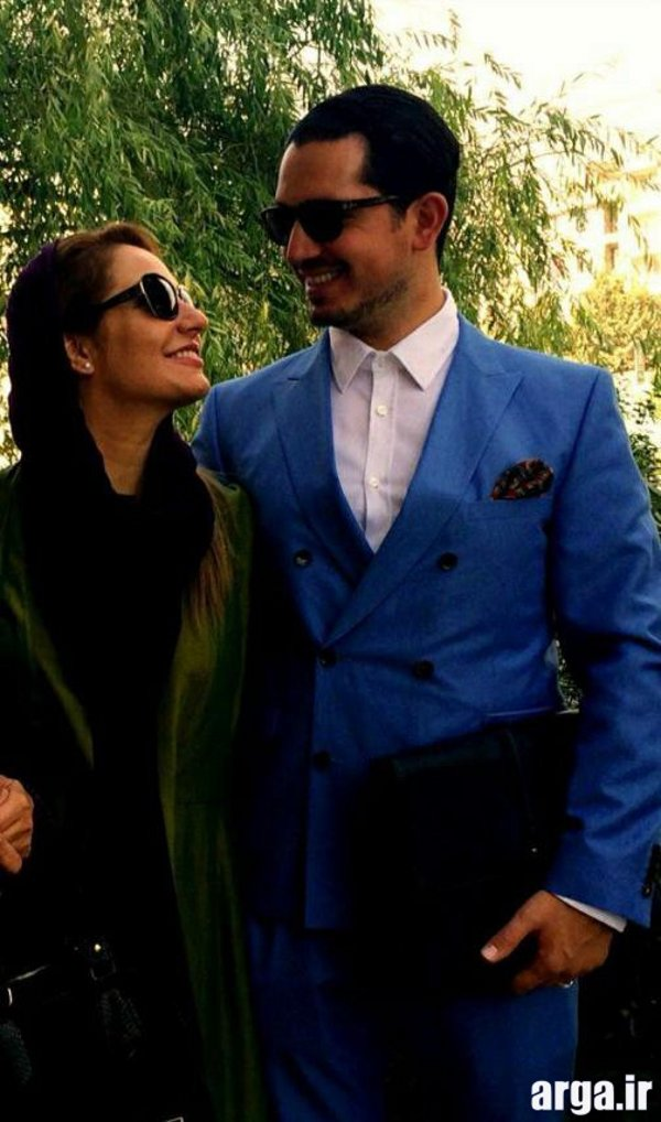 مهناز افشار و همسرش 3