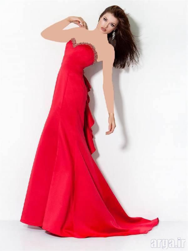 لباس مجلسی قرمز زیبا و شیک