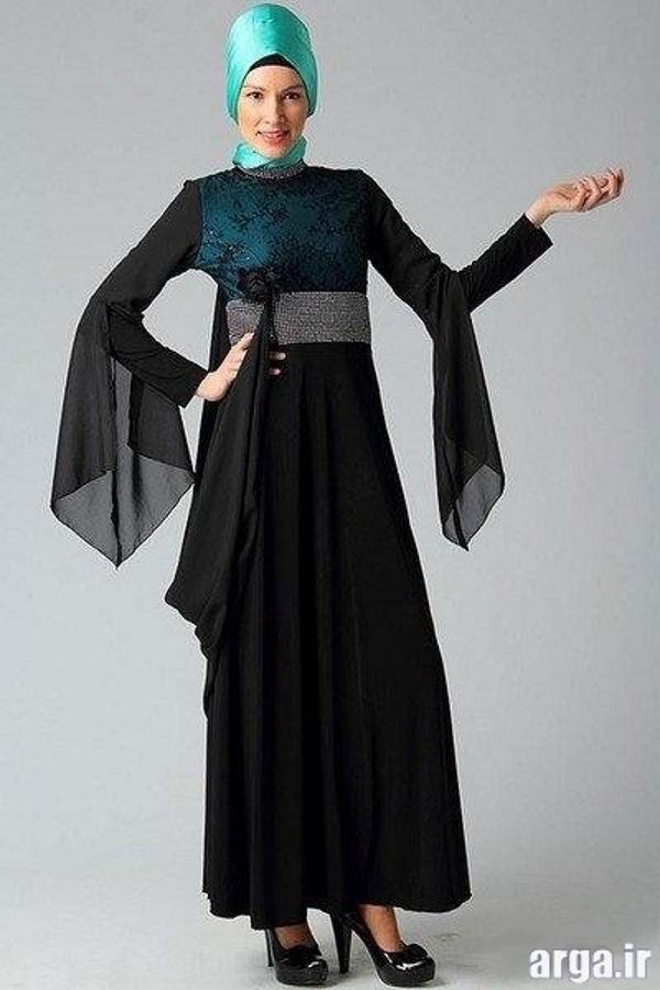 لباس مجلسی پوشیده مدرن