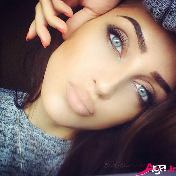آرایش دخترانه مدرن