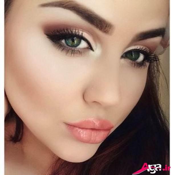 آرایش غلیظ دخترانه