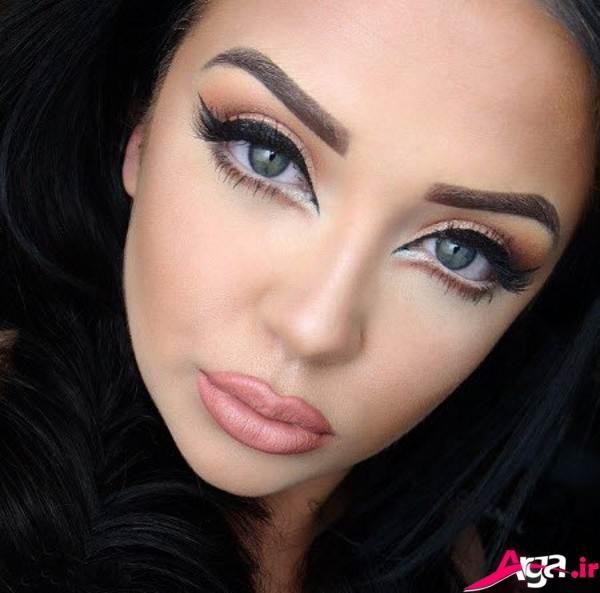 مدل هایزیبا و جذاب آرایش صورت مجلسی