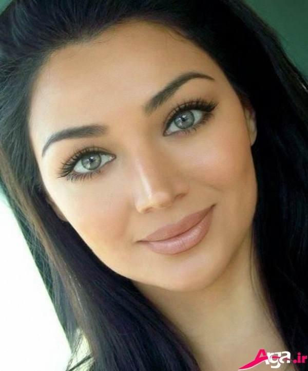 آرایش صورت دخترانه شیک
