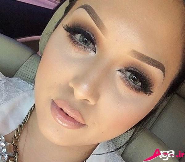 آرایش صورت دخترانه مدرن