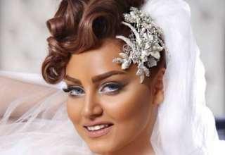 آرایش موی کوتاه عروس