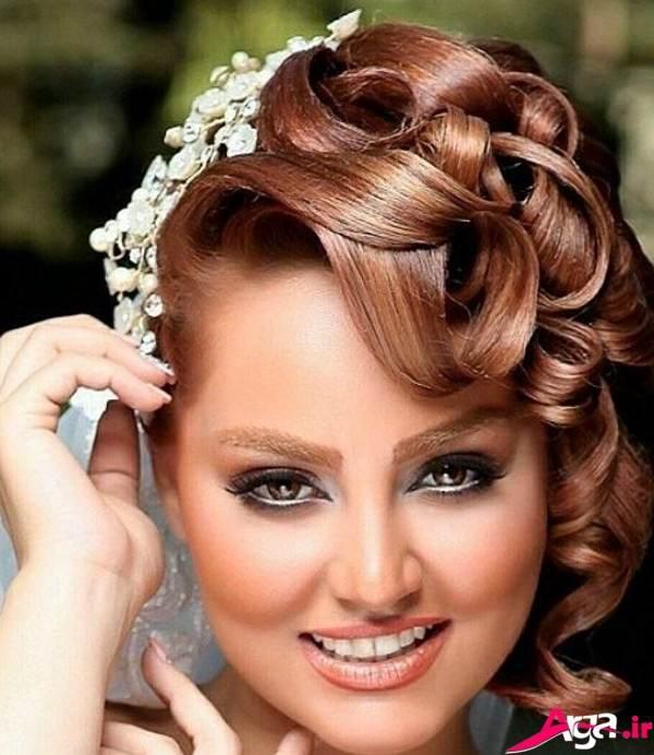 آرایش موی کوتاه برای عروس