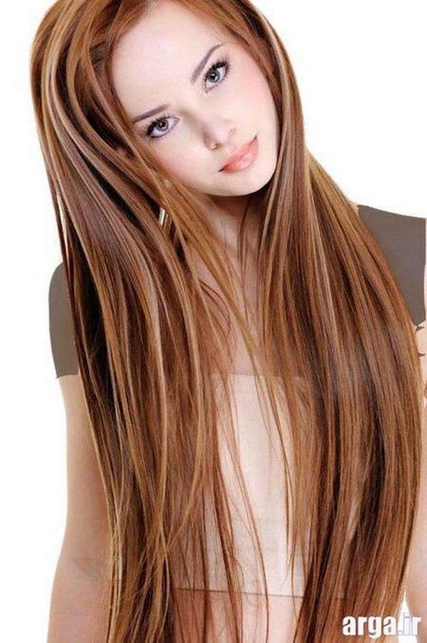 مدل موهای جذاب و زیبا بلند