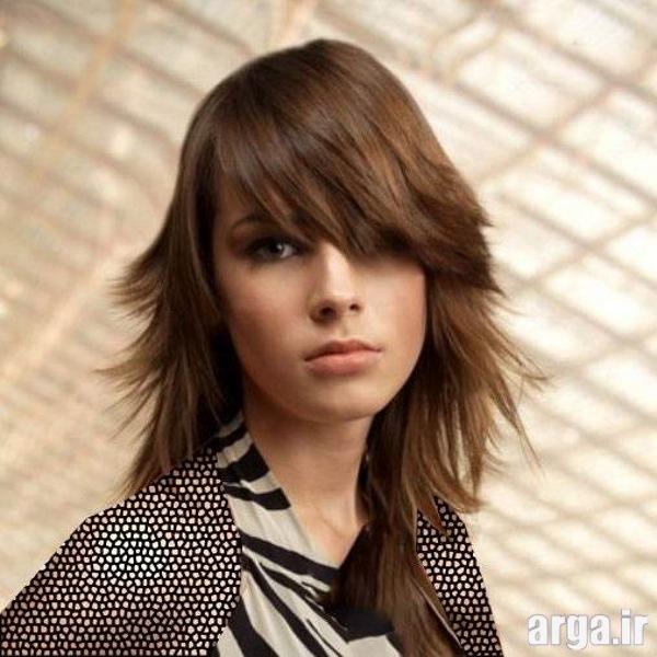 مدل موهای جذاب و شیک بلند