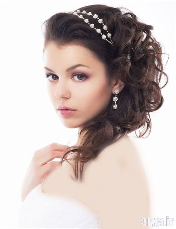 مدل موی عروس ساده و زیبا