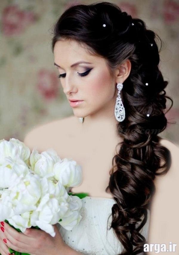 موی بلند و زیبای عروس