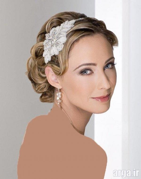 مدلی دیگر از موی بلوند عروس