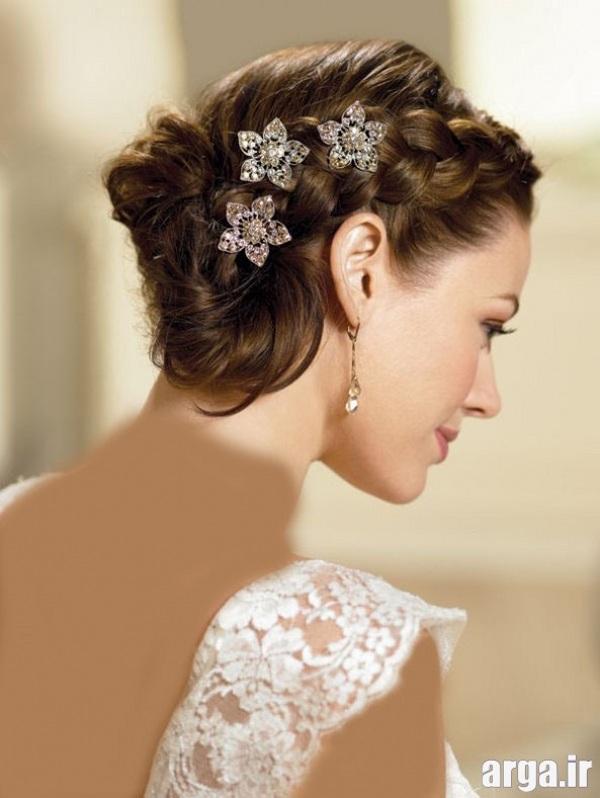 مدل مویی ساده و شیک از عروس