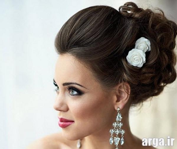 یک مدل بسیار شیک و جذاب موی عروس