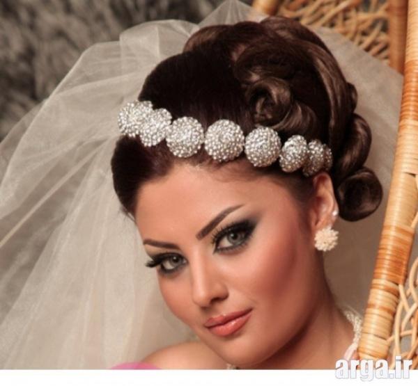 عروس زیبا با مدل موی ساده