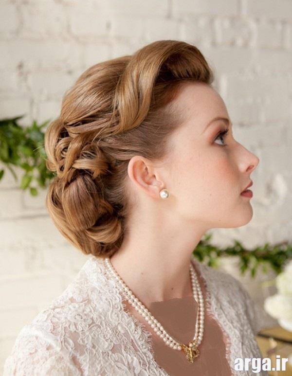 مدل موی عروس اروپایی ساده